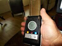Star Trek original series communicator with light and sound effects