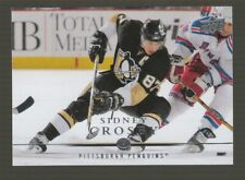(71121) 2008-09 UPPER DECK SERIES 1 SIDNEY CROSBY #42 [LOT OF 11]