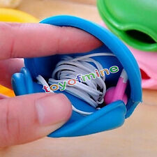 Smart Turtle CableCord Organizer Wrap Wireless Winder Earphone Headphone Holder