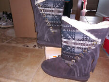 NEW $89 Womens Bearpaw Kathy Boots, size 11           shoes