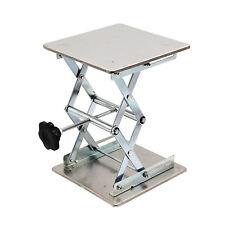 Hfsr 8 X 8 Lab Jack Scissor Stand Platform 10 Height 15kg33lbs