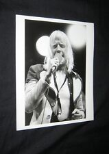 Original 1973 Edgar Winter Press Kit Photo Abc Tv Madison Square Garden 1/9/73