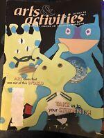 ARTS & ACTIVITIES-MAGAZINE October 2004, Art Ed ideas