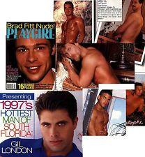 PLAYGIRL 8-97 BRAD PITT NUDE! MEN OF S FLORIDA ROCKER DUDE AUGUST 1997 FREE DVD