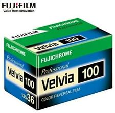 FUJI Fujichrome Velvia 100 RVP 36exp PRO 135 Color Reversal Slide Film