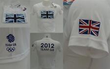 London 2012 Olympic Adidas Team GB Flag Junior Boys Tee T-Shirt 9-10 y RRP £20