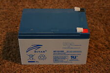 Ritar RT12120EV - 12 Volt 12ah battery - Cell for Kids electric toy car/ scooter