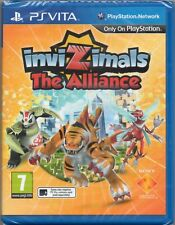 INVIZIMALS: THE ALLIANCE GAME PS VITA PLAYSTATION (invisimals) ~ NEW / SEALED