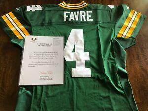 1997 Brett Favre Game Worn Used Football Jersey - Team Letter, 3 Repairs