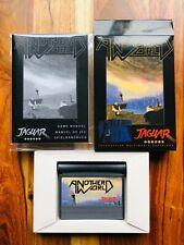 Another World Atari Jaguar Box Manual Game Mint Condition AUTHENTIC Rare MINT