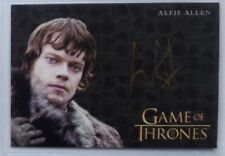 Game of Thrones Valyrian autograph card