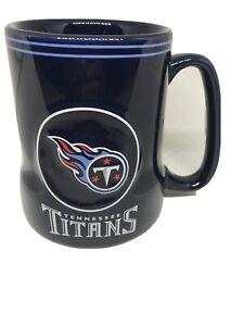 NFL Tennessee Titan Game Time 18oz. Blue Mug