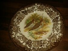 "VIINTAGE YET UNUSED PALISSY ROYAL WORCESTER GAME SERIES SNIPES 7"" DIAM PLATE"