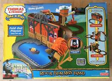 NEW Fisher-Price Thomas & Friends Take-n-Play Rescue from Misty Island Train Set