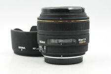 Sigma AF 30mm f1.4 EX DC HSM Lens 30/1.4 for Original 4/3 #814