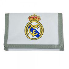 9ab97eec2cf48 Real Madrid Fanartikel Geldbörse Geldbeutel Klett weiß mit Logo neu und  günstig