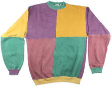 Mens Jumper Windcheater Vintage Size Small Sweater Colourful Pullover
