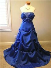 NWT City Triangles prom evening formal social occasion dress w/ pick up skirt 14