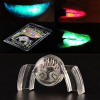Glow Tooth Light Up Mouthpiece LED Mouth Guard Flashing Teeth Halloween Party NT