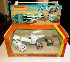 Matchbox Superfast Highway Express Set - NASA Countdown Lesney NRRB MIB V RARE
