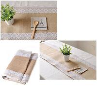 Jute Jutestoff Dekoband 30cm breit Tischband, Tischlaufer for Hochzeit rustikal