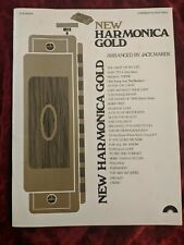 New Harmonica Gold Arranged By Jack Marek 1978