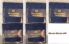 Wesminster Velvet, Coin - Medal  Wallets x 5