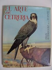 1st ed 1965 The Art of Falconry El Arte de Cetreria Felix Rodriguez de la Fuente