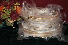Lenox HOLIDAY Tartan 12 piece set NEW USA Dinner Salad Soup 1stQ