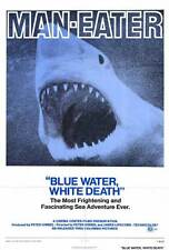 BLUE WATER WHITE DEATH Movie POSTER 27x40 Rodney Jonklaas Peter Lake Ron Taylor
