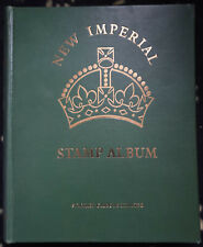 Stamp Collection in  SG 'New Imperial Stamp Album' Vol 1& 2  1600+ STAMPS