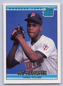 1992 PAT MAHOMES SR. - DONRUSS RATED ROOKIE Baseball Card # 403 Father of QB