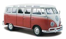 Maisto - 31946 -Volkswagen Samba Bus - Scale 1:25 - Red