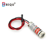 2 Pcs 12mm 5mw Red Line Laser Module MXD1230 Point Spot Size Adjustable Laser