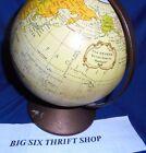 "The Revere Replogle 6"" Diameter Metal Earth Globe World Bank"