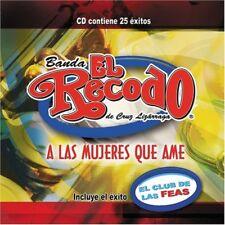 Banda El Recodo de Don Cruz Lizaraga Mujeres Que Ame CD New Nuevo