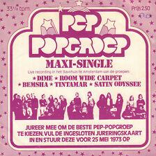 "VARIOUS – PEP POPGROEP MAXI-SINGLE (RARE 1973 NEDERPOP VINYL EP 7"")"