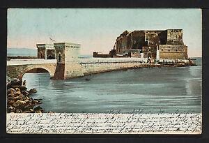 889-NAPOLI -Castello dell Ovo (Inviato a Messico nel 1903)