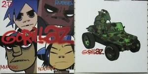 GORILLAZ 2001 CLINT EASTWOOD 2 sided promotional poster/flat New Old Stock