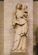 AK: Antwerpen - O.-L.-Vrouwekathedraal - O.-L. Vrouw met Kind, 15e eeuw, albast