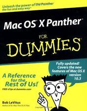 Mac OS X Panther For Dummies,Bob LeVitus