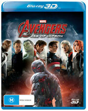 Avengers: Age of Ultron (3D Blu-ray)  - BLU-RAY - NEW Region B