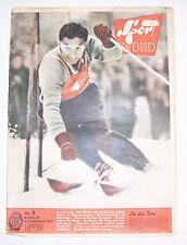 Sport dans l'image nº 3 1957 Toni Sailer Football Américain Eberhard Riedel!