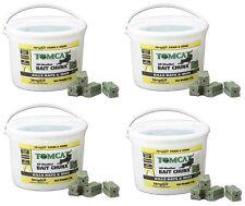 (4) pails Tomcat  32444 4 LB, 1 oz,  Chunx Mice and Rat Rodent Bait Chunks