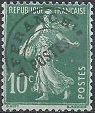 "FRANCE PREOBLITERE TIMBRE STAMP N° 51 ""TYPE SEMEUSE 10C VERT "" NEUF x TB"