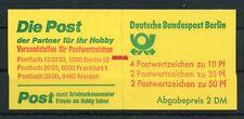 BERLIN-MH MH11imZ ** ZÄHLBALKEN - MARKENHEFTCHEN !!! (111751)