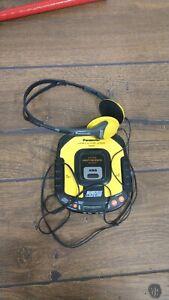 Panasonic SL-SW405 XBS Shock Wave Portable CD Player Anti-Shock ((WORKS ))