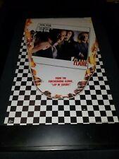 Cheap Trick The Flame Rare Original Radio Promo Poster Ad Framed! #3