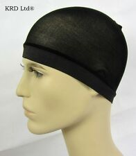 2 PACK Mens Black Stocking Wave Cap Easy Sexy Comfy Flexible Breathable Men NEW