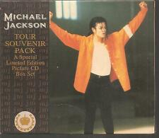 "Michael JACKSON ""TOUR SOUVENIR PACK"" 4cd BOX RARE"